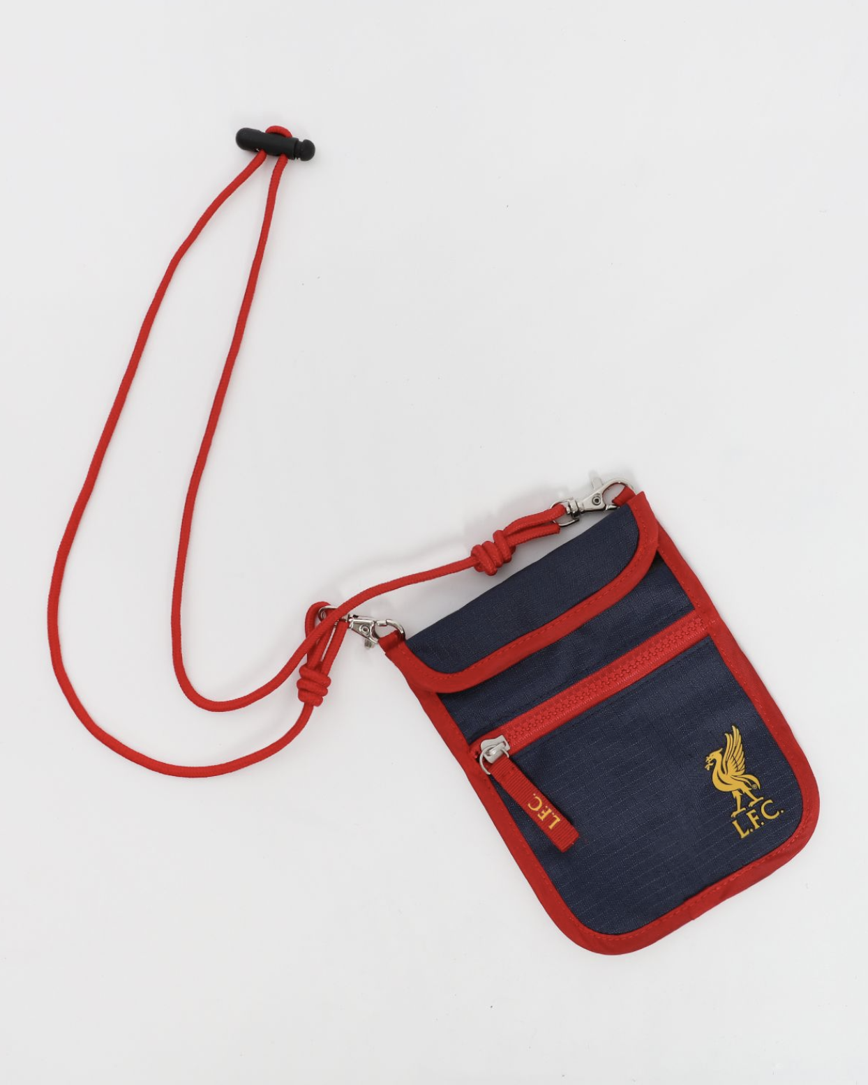 LFC Youth Navy Pouch Bag - Anfield Shop