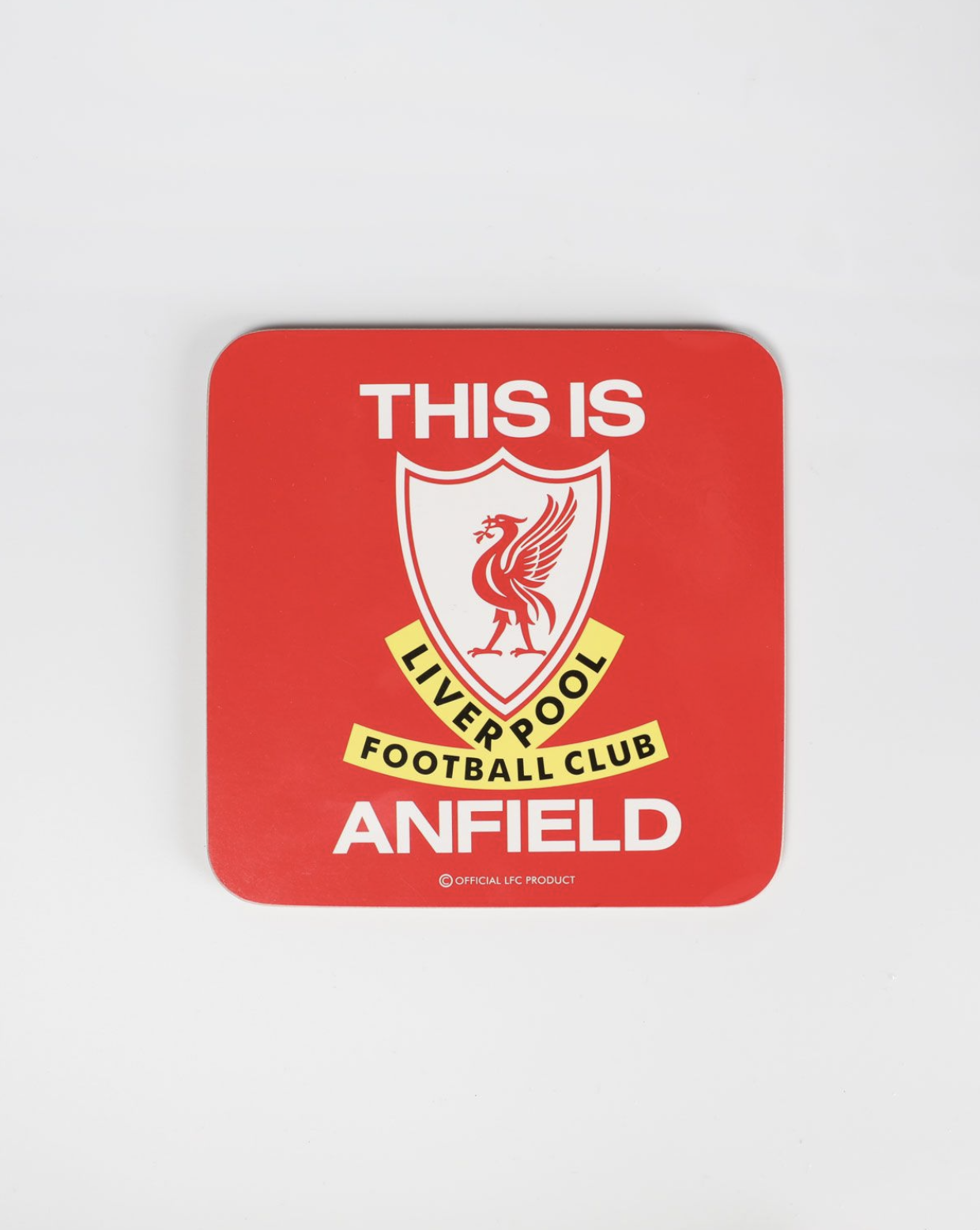 Liverpool FC This is Anfield Coaster - Anfield Shop