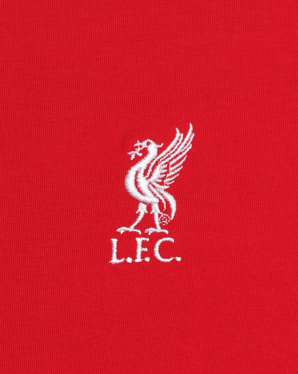 Liverpool FC Womens Red Livebird Embroidered Tee - Anfield Shop