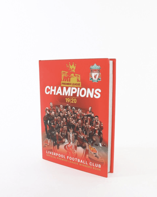 LFC Champions Official Winners 19/20 Book