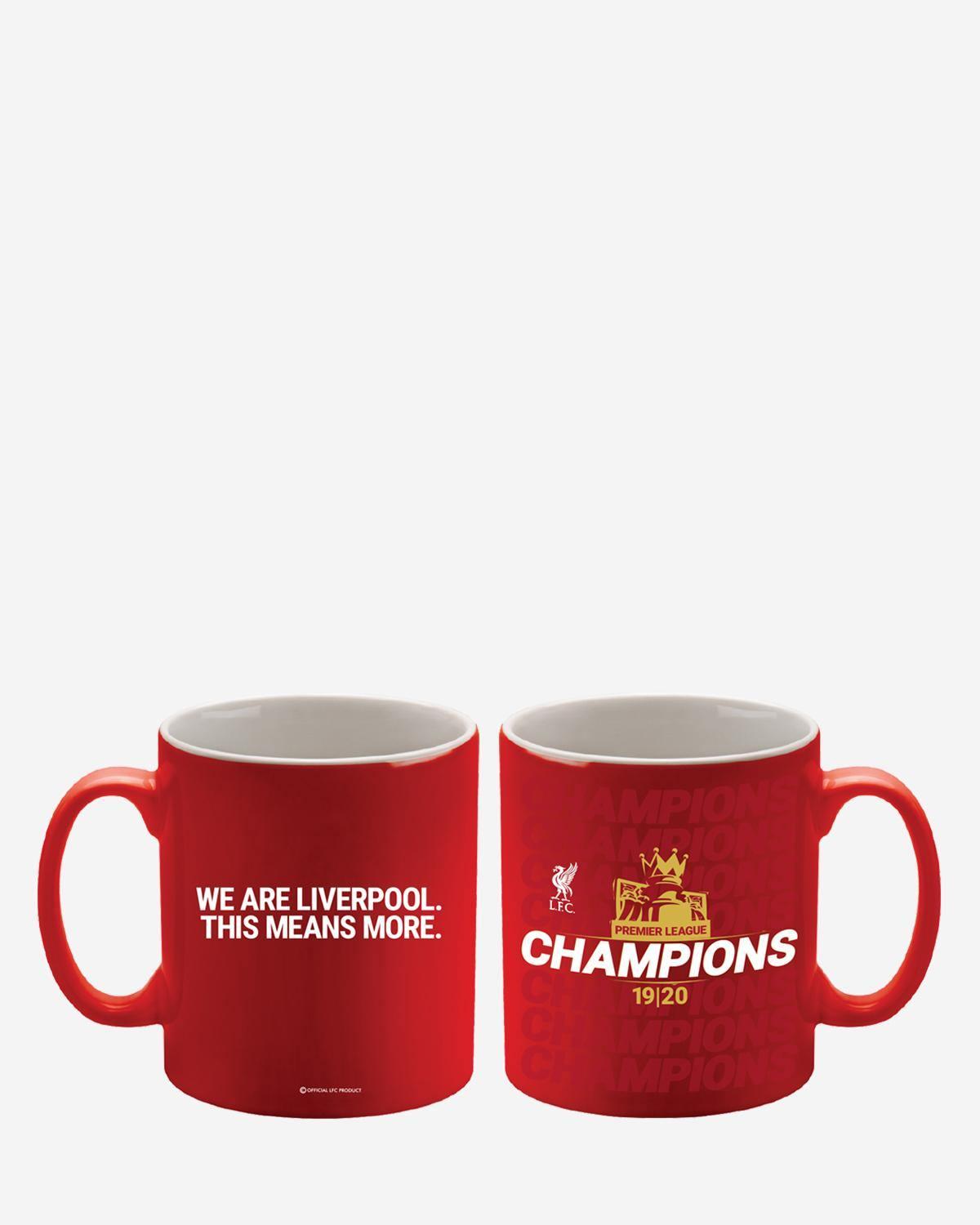 Liverpool FC 2019/20 Premier League Champions Ceramic Mug