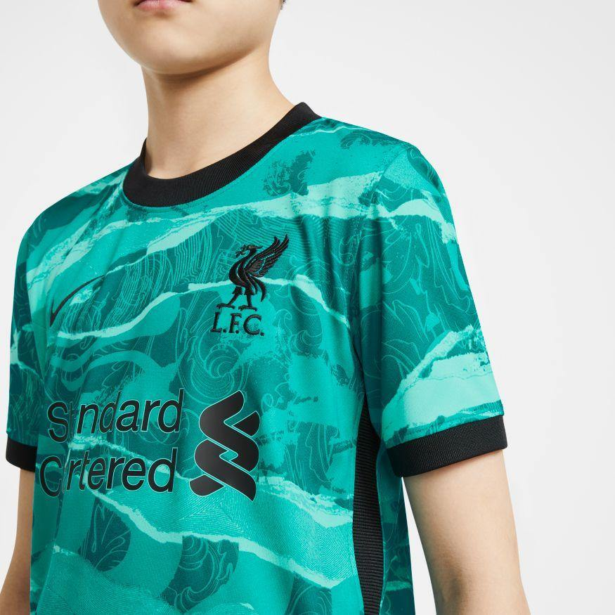 Liverpool FC Nike 2020/21 Kids Stadium Away Jersey