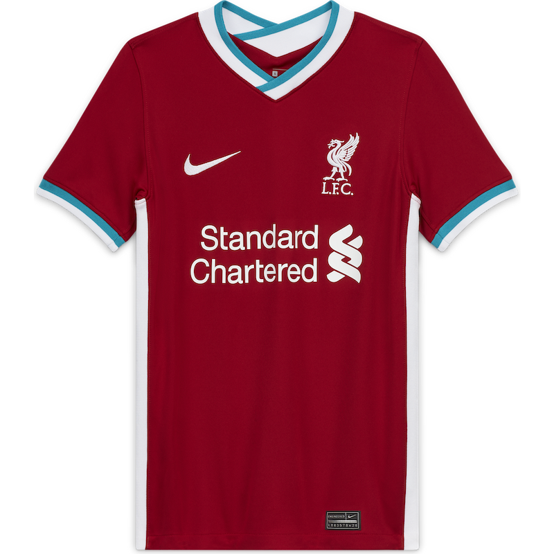 Liverpool FC Nike 2020/21 Kids Stadium Home Jersey
