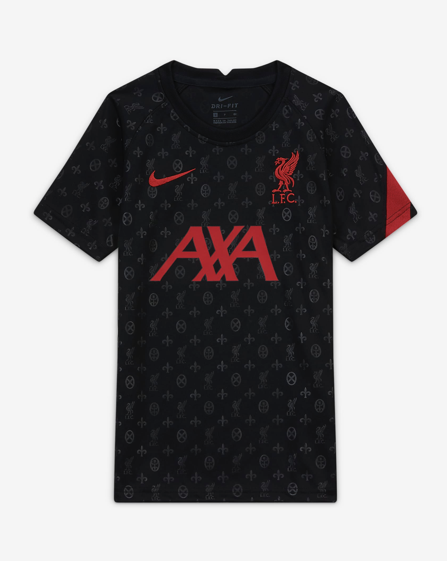 LFC Nike Youth Energy Pre-Match Jersey