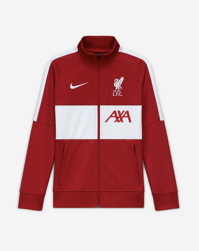 Liverpool FC Nike Kids Red Anthem Tracksuit Jacket - Anfield Shop