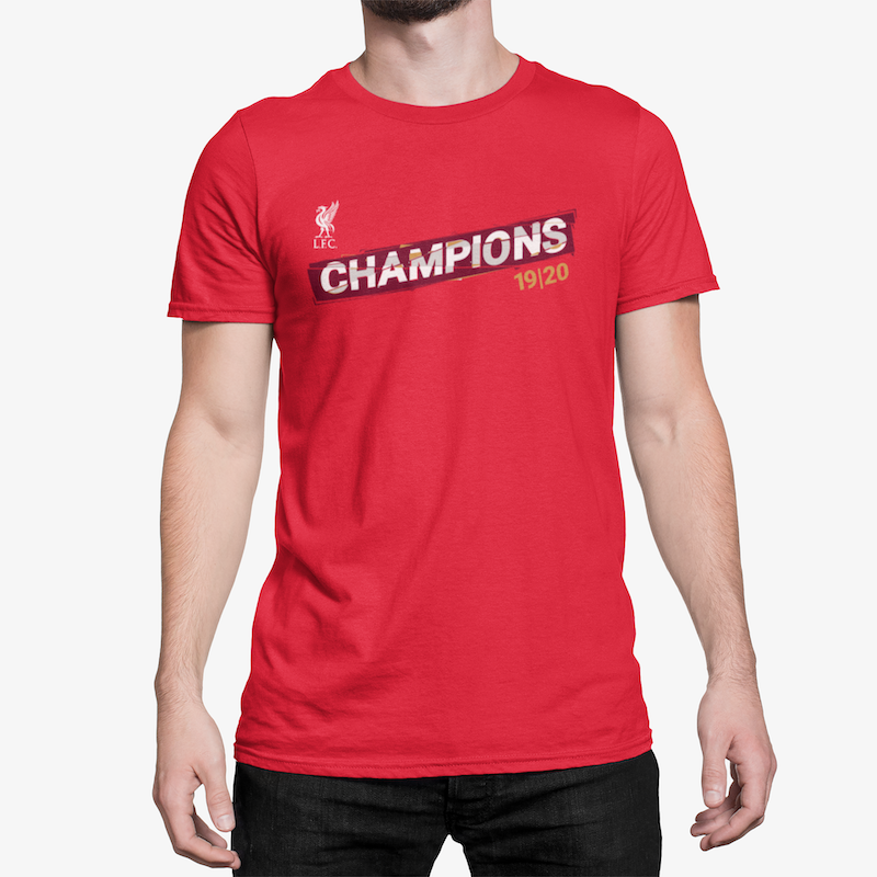 LFC 2019/20 Premier League Champions Red Unisex T-Shirt