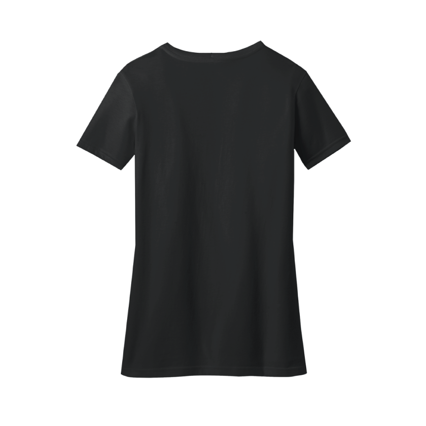 LFC 2019/20 Premier League Champions Ladies Black V-Neck T-Shirt