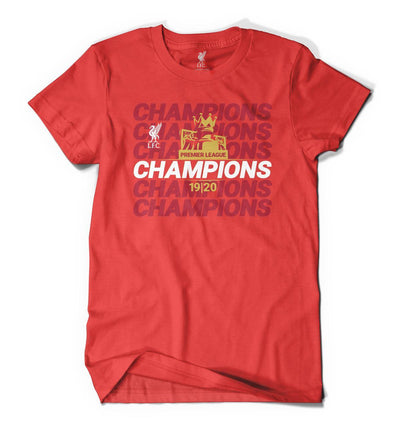 LFC  Trophy T-Shirt - Anfield Shop