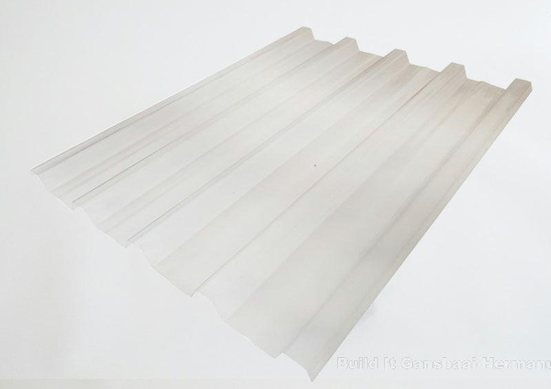 Polycarbonate Roof Sheets 0.8 x 686 x 2400mm P/M - Opal