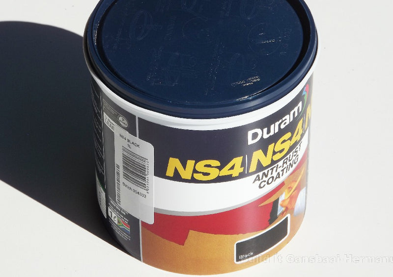Duram NS4 Metal Primer Black 1L