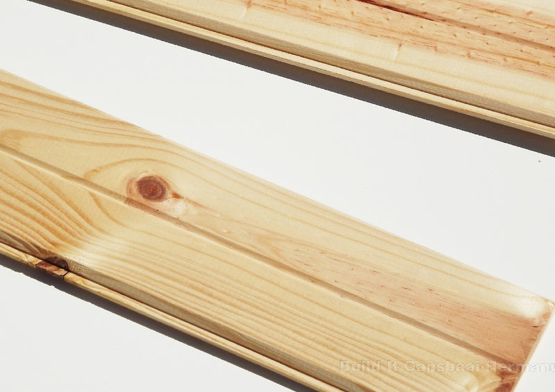 Knotty Pine Ceiling Boards 12 x 102 x 3600mm