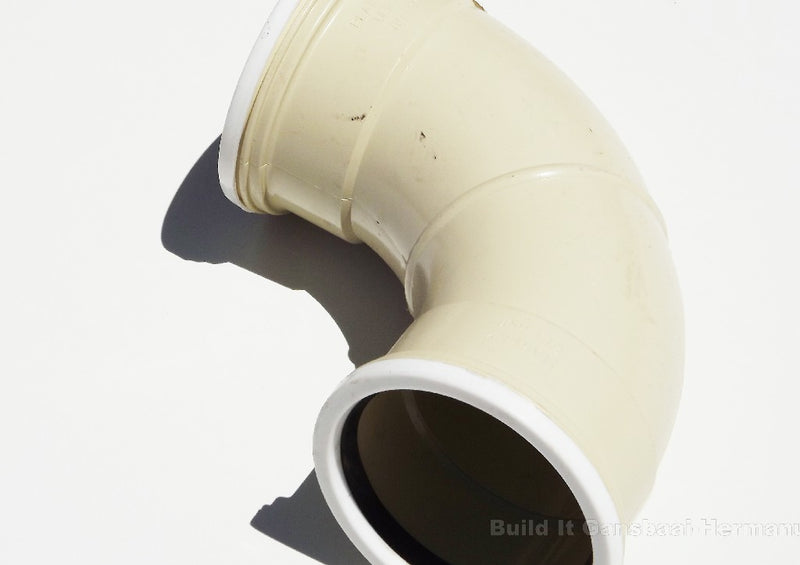 PVC Underground Ribbed Bend 87.5 Degree 110mm