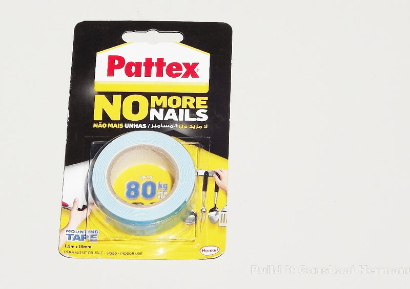 Pattex No More Nails Strong Adhesive Tape - Blue