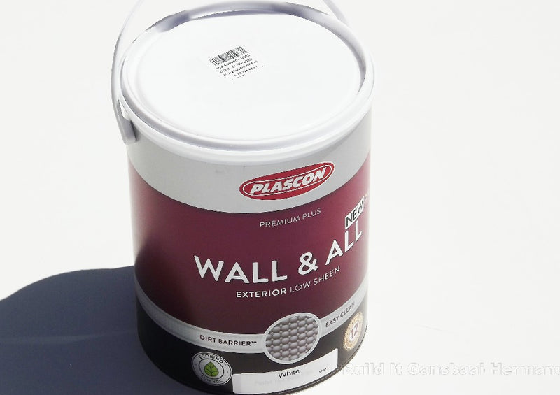 PLASCON WALL & ALL WHITE  5L