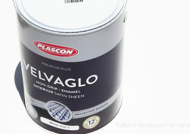 Plascon Velvaglo Satin White 5L