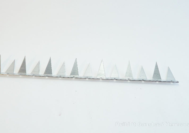 Security Spikes Galvanized 60mm x 1500mm
