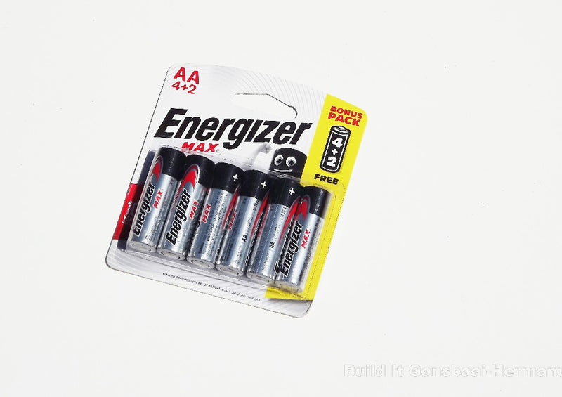 Batteries Energizer MAX AA - 6 Pack