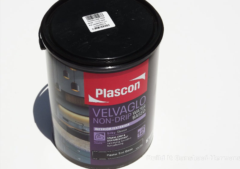 Plascon Velvaglo Water Base Pastel 5L
