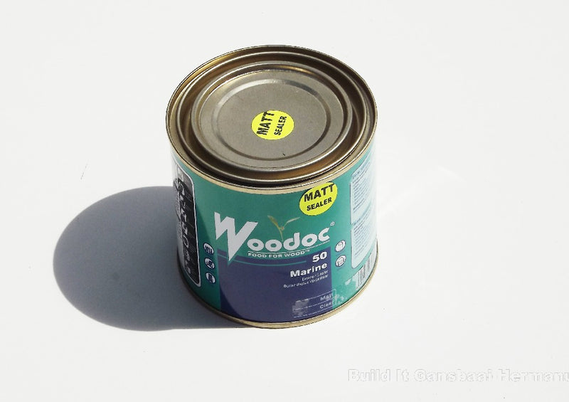 Woodoc 50 Marine Matt 500ml