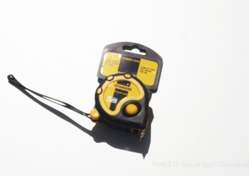 Tape Measure STD 5000mm x 19mm