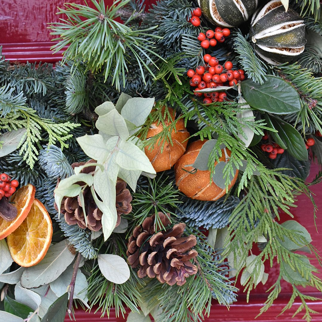 Luxury Christmas Natural Wreath