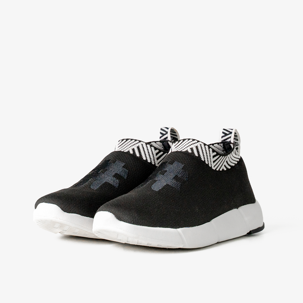 Women's Coffee Sneakers - Classic Black