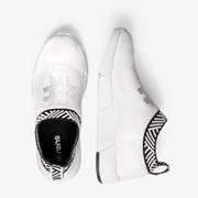 Men's Coffee Sneakers - Classic White