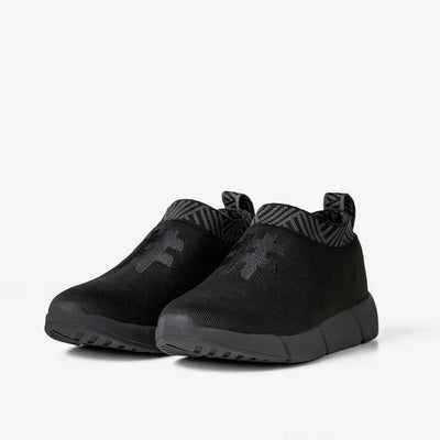 Men's Coffee Sneakers - Stealth Black