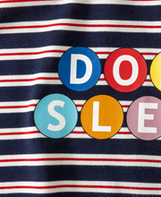 Load image into Gallery viewer, Sleeping in Stripes Tee