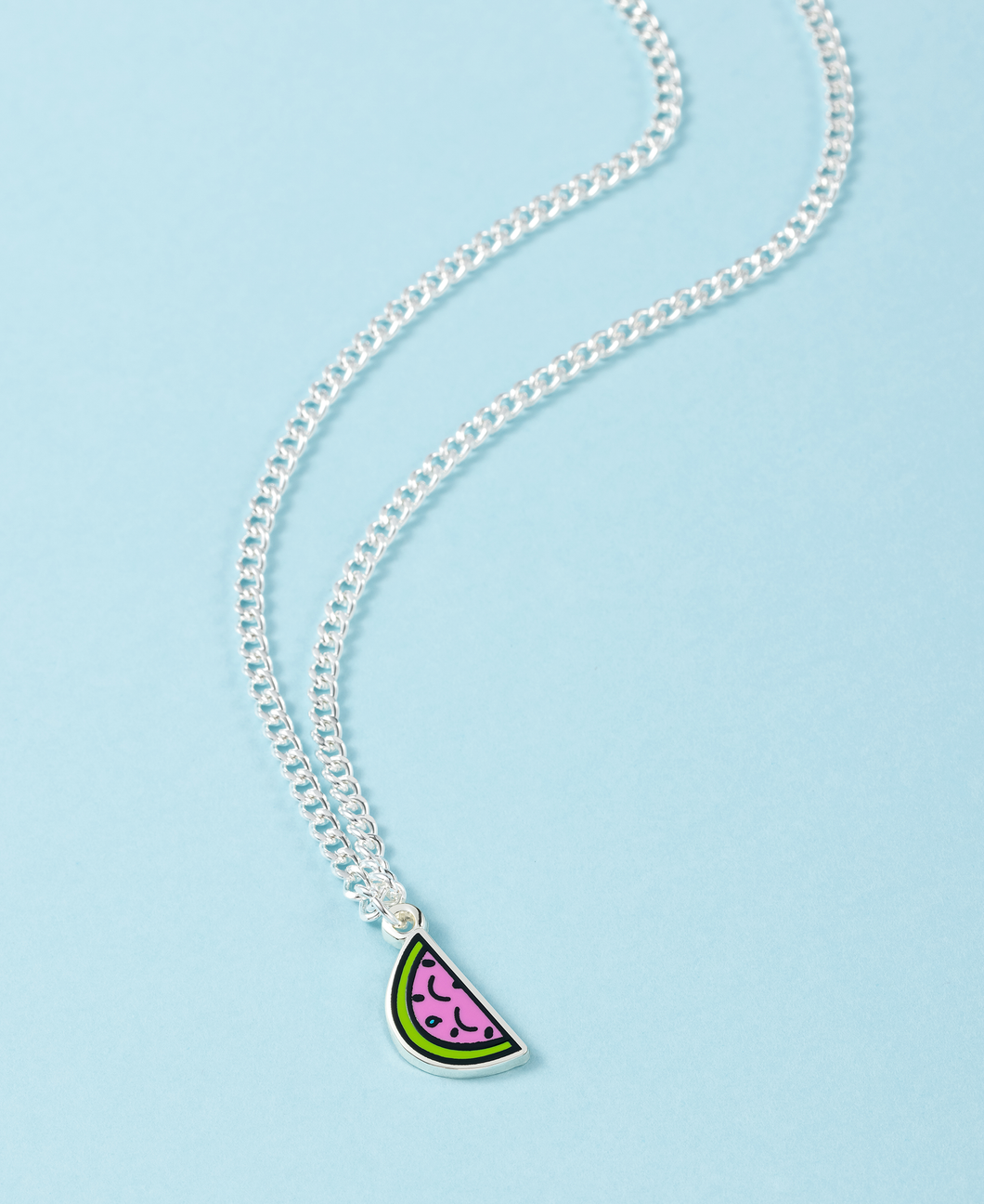 Watermelon Charm & Necklace