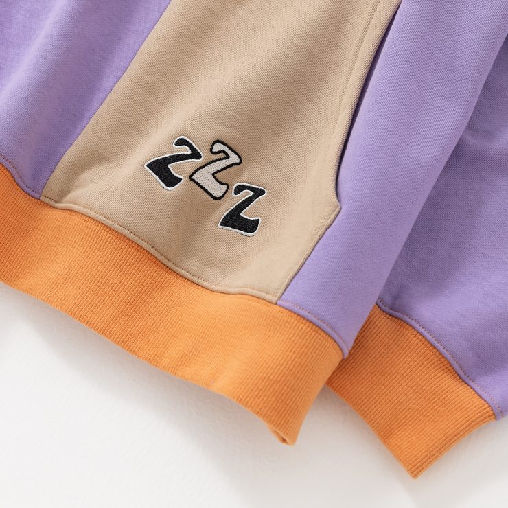 Double Blazed Wake Up Colorblock Hoodie