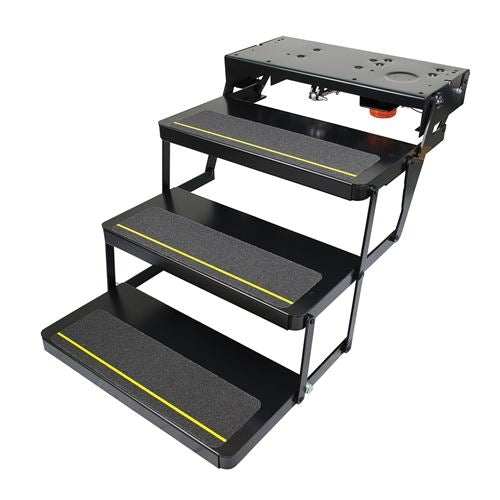 Lippert Components 375821 Kwikee 24 Series Triple Electric Step W- 9510 (902409000)
