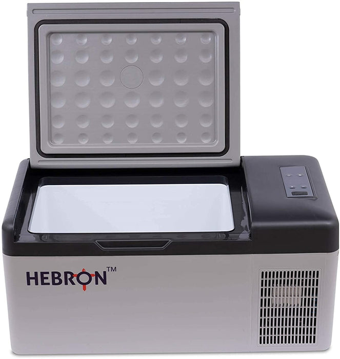 Hebron 16QT Portable Refrigerator - Efficient Car Fridge-Freezer