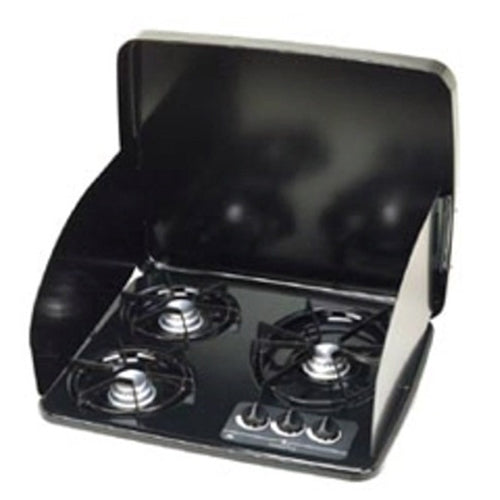 Atwood 56458 DV 20 Drop In 2 Burner Cooktop Cover DVC2-BLR Black