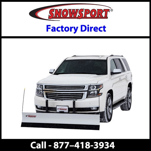 SnowSport LT 7' Snow Plow for Chevy-GMC Colorado-Canyon 4WD 80664-40115