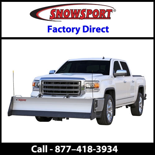 SnowSport HD 8' Snow Plow for 2005-2007 Dodge Dakota 4WD