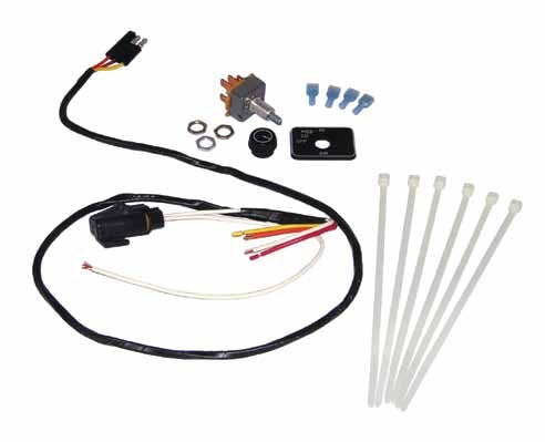 Maradyne Switch Kit 12V With 3 Wire Harness for Three-Speed Motor