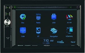 JENSEN JRV9000R Touchscreen AM-FM- Navigation-Bluetooth Multimedia System