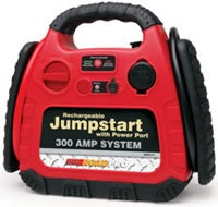 RoadPro Rechargeable Emergency Jumpstart System with 12 Volt Power Outlet
