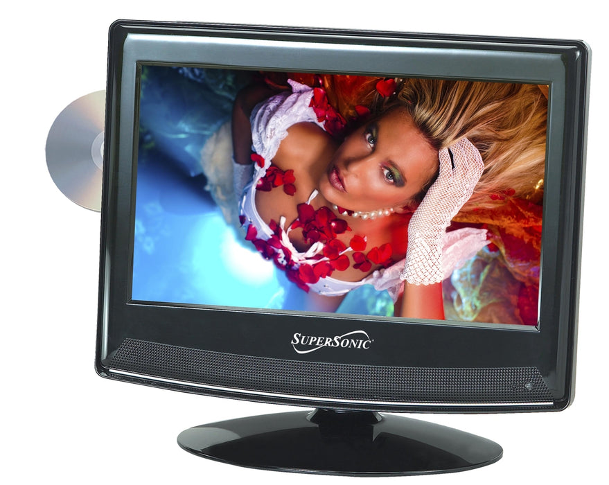 "Supersonic 13.3"" 12 Volt LED HDTV With DVD Player - Free Shipping"