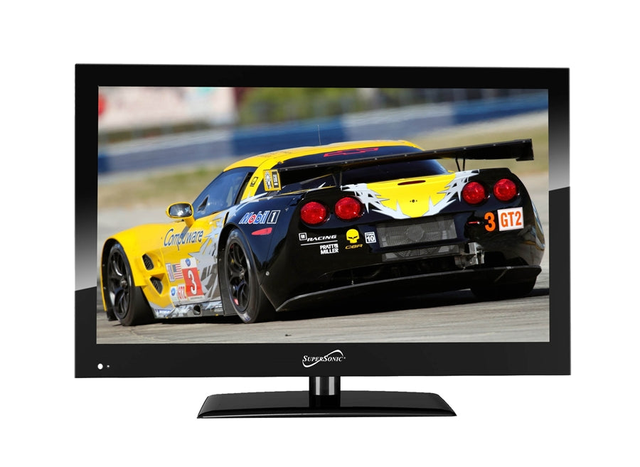"Supersonic 19"" 12 Volt WIDESCREEN LED HDTV - Free Shipping"