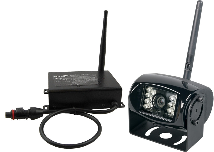 JENSEN Voyager WVRXCAM1 Digital Wireless Camera and Receiver System