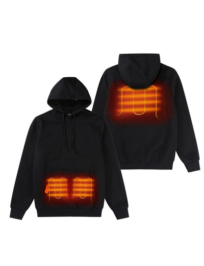 2020 Unisex Heated Pullover Hoodie with Heating on Pocket