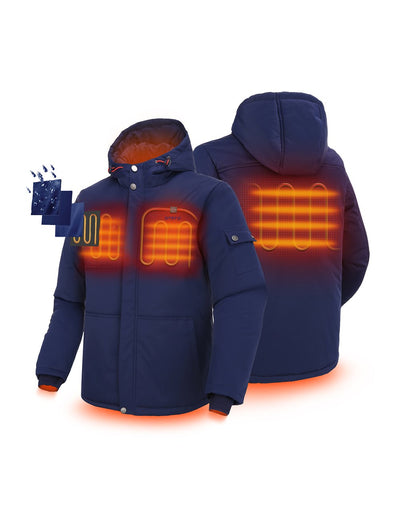 Men's Heated Hooded Jacket