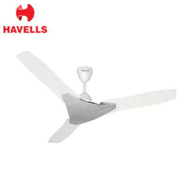 HAVELLS 1200MM FAN TROIKA PEARL WHITE SILVER