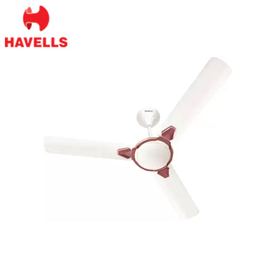 HAVELLS 1200MM FAN EQUS WHITE MAROON