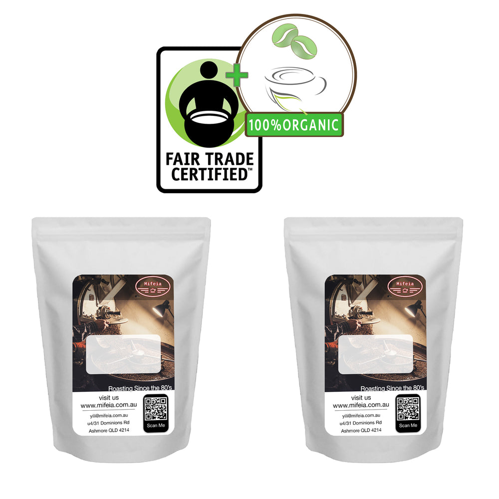 Fairtrade & Organic 250g Sample 2-Pack