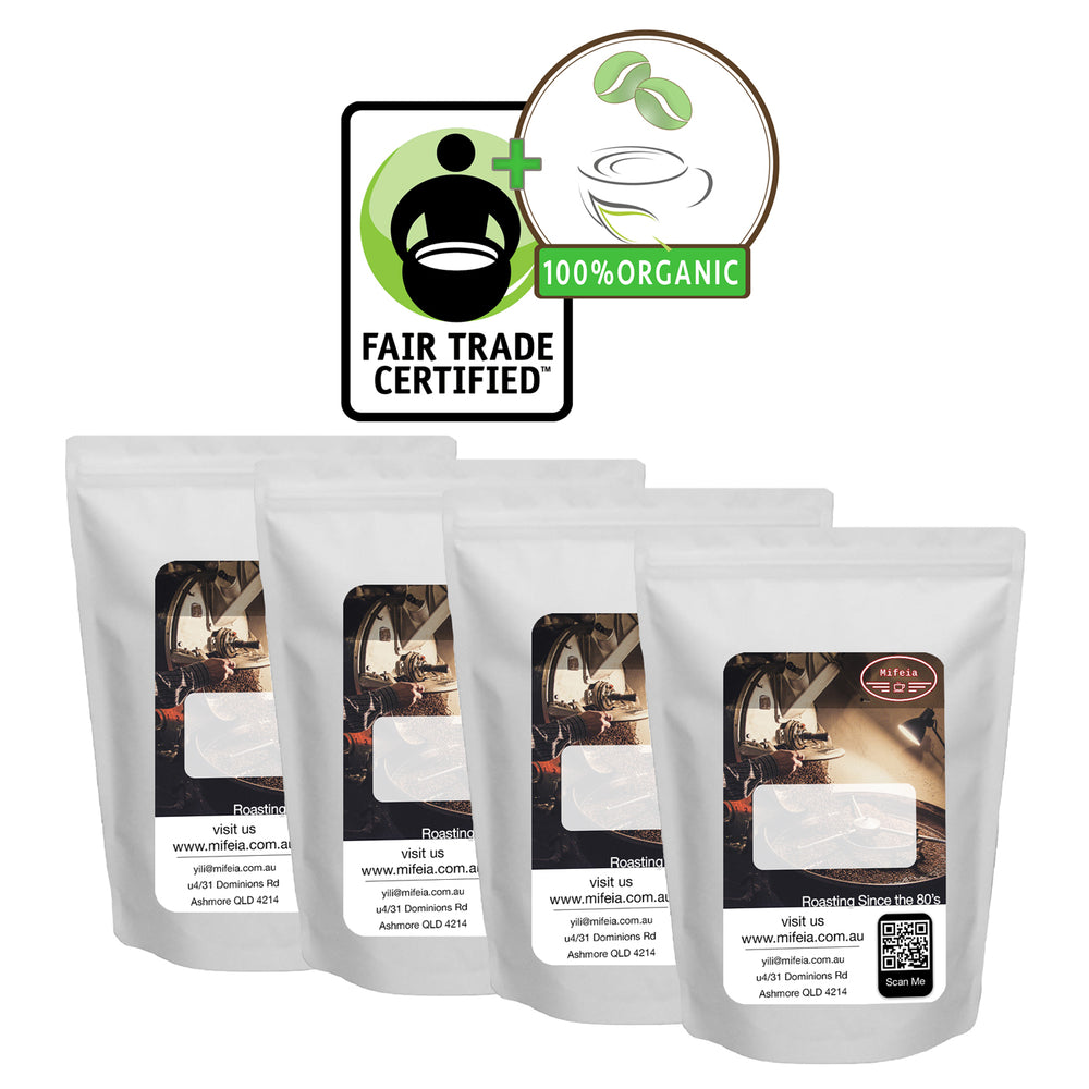Fairtrade & Organic 250g Sample 4-Pack