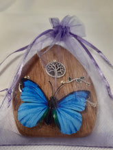 Load image into Gallery viewer, Wooden Fairy Door - Cornish Oak - Tree of Life