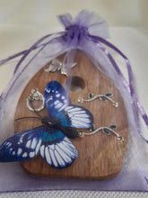 Load image into Gallery viewer, Fairy Door - Silver Butterfly